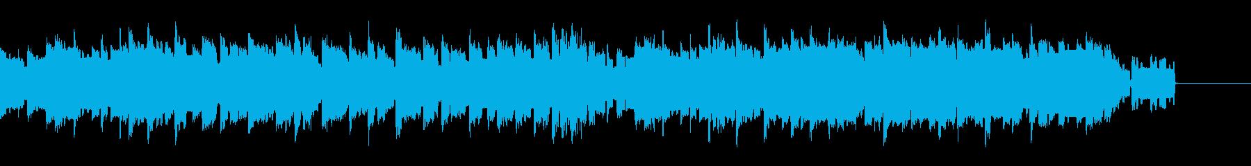 ファミコン風BGMの再生済みの波形