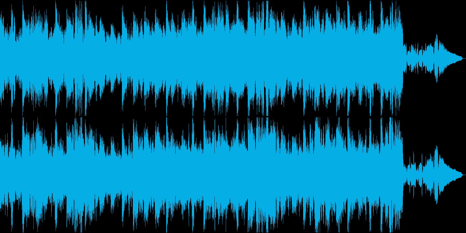 切ない響きの弦楽四重奏とピアノの再生済みの波形