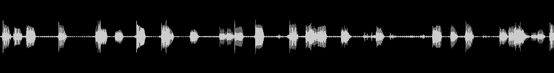 ビープ音11の未再生の波形