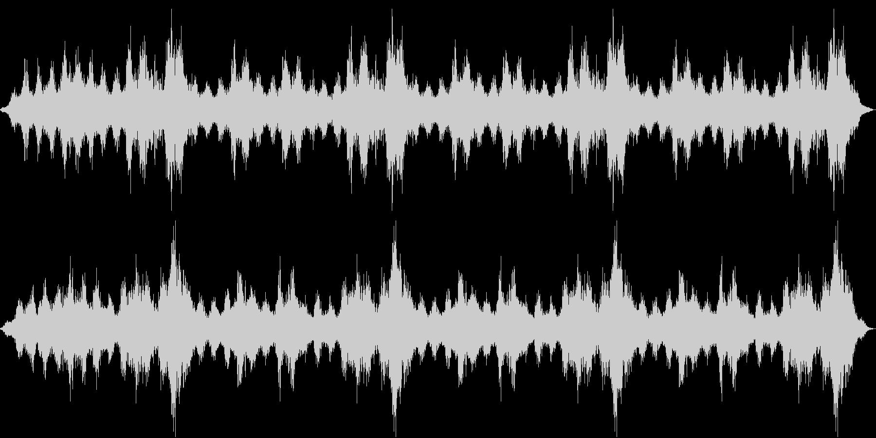 【ダークアンビエント】サウンドスケープの未再生の波形