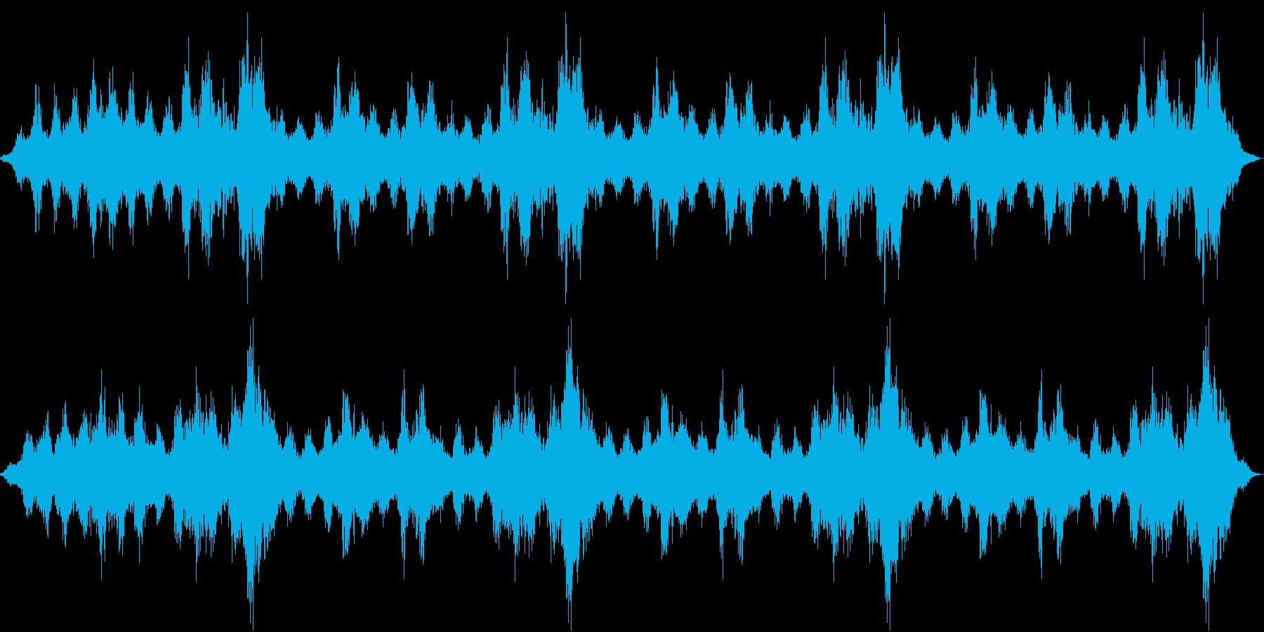 【ダークアンビエント】サウンドスケープの再生済みの波形