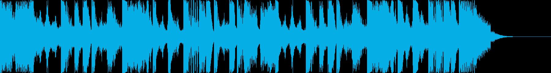 ジングル・ホラー・電子・罠・恐怖・疾走感の再生済みの波形