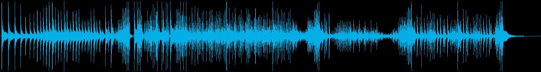 津軽三味線ソロ-F、激しい、疾走、声なしの再生済みの波形