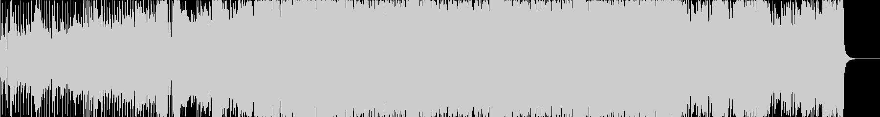 シンプルなビッグルームハウス・EDMの未再生の波形