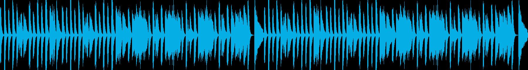 YouTubeトーク・楽しい会話の再生済みの波形
