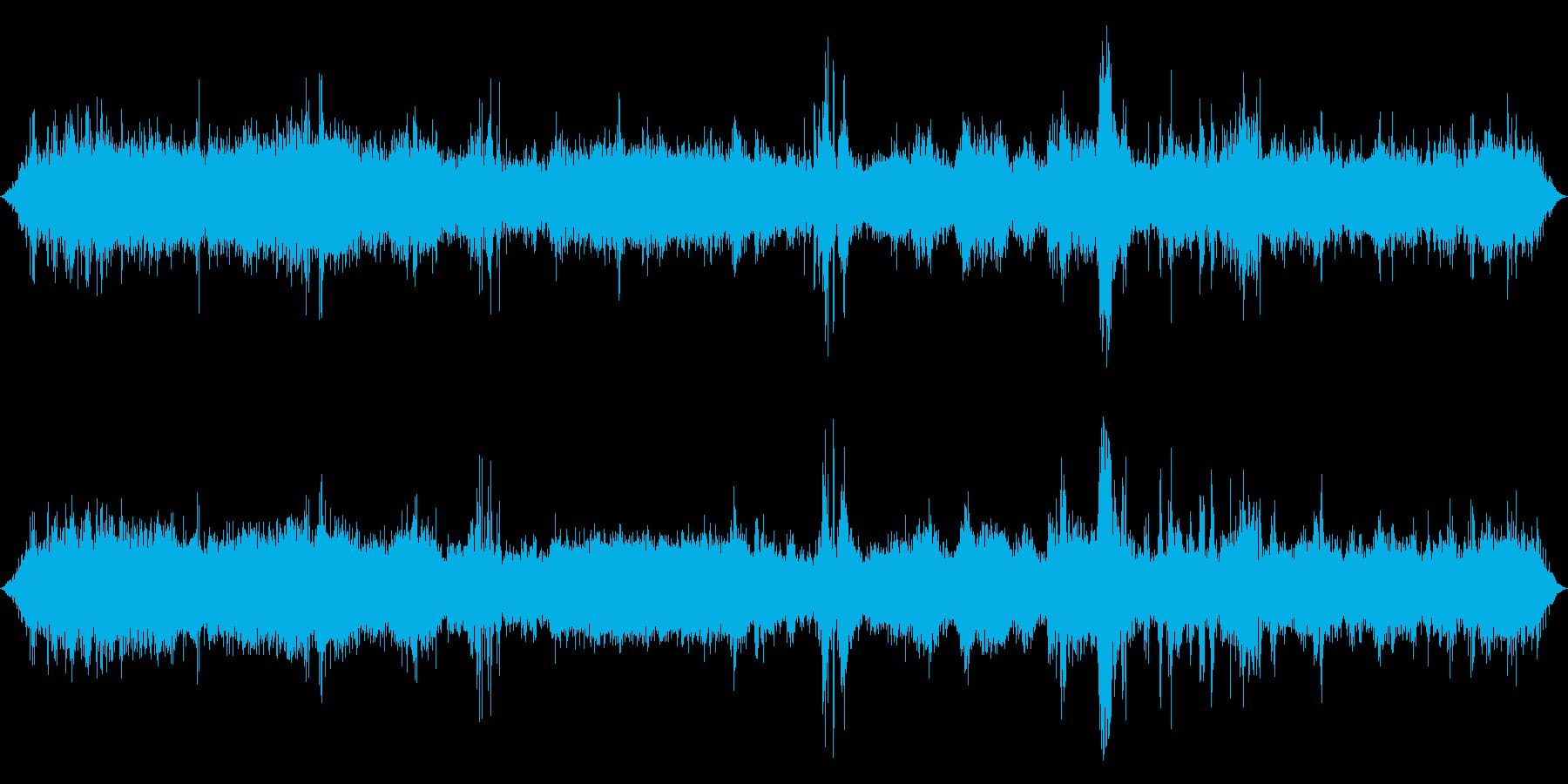 貨物列車:内線:機内:巡航速度、ヘ...の再生済みの波形