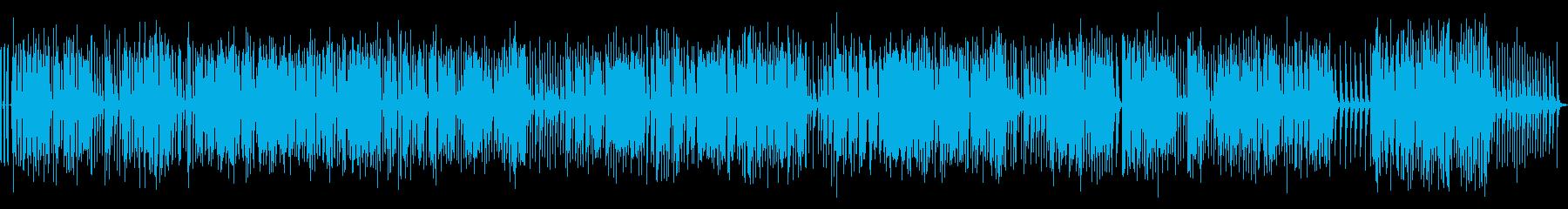 長尺オルゴール楽曲02-1(駆動音あり)の再生済みの波形