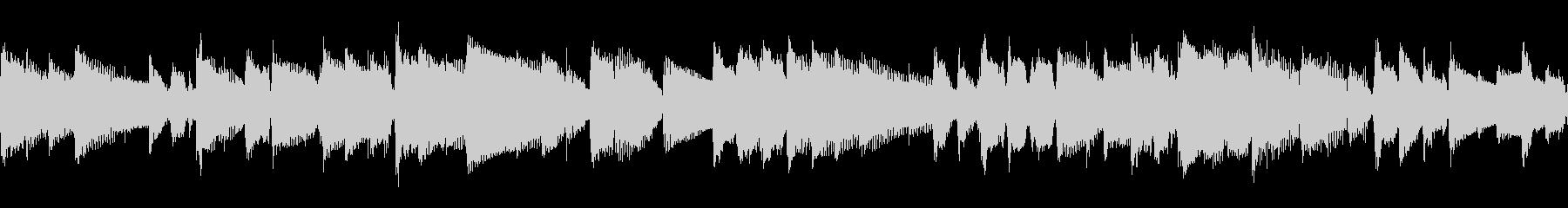 リラックスムードのアコースティックの未再生の波形