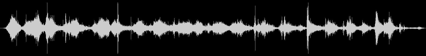 ハードメタルレーキ:レーキリーフ、...の未再生の波形