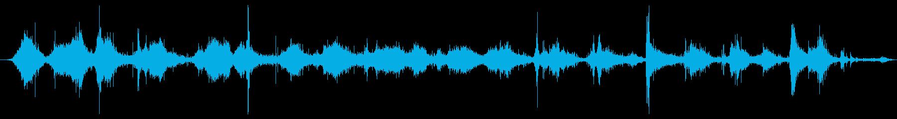 ハードメタルレーキ:レーキリーフ、...の再生済みの波形
