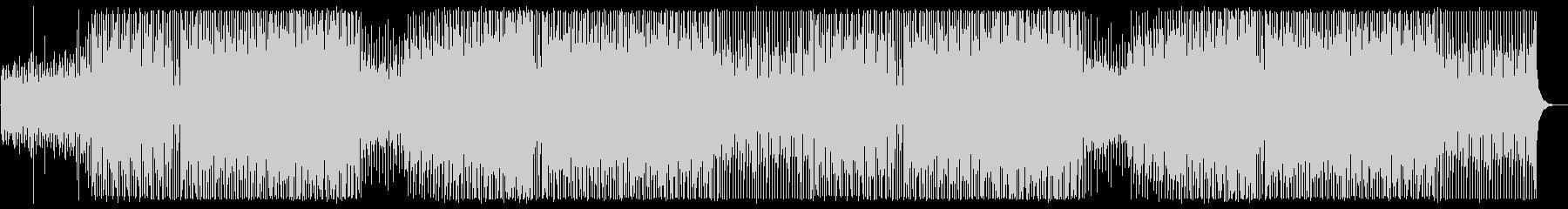 ダンサブルなエレクトロミュージックの未再生の波形