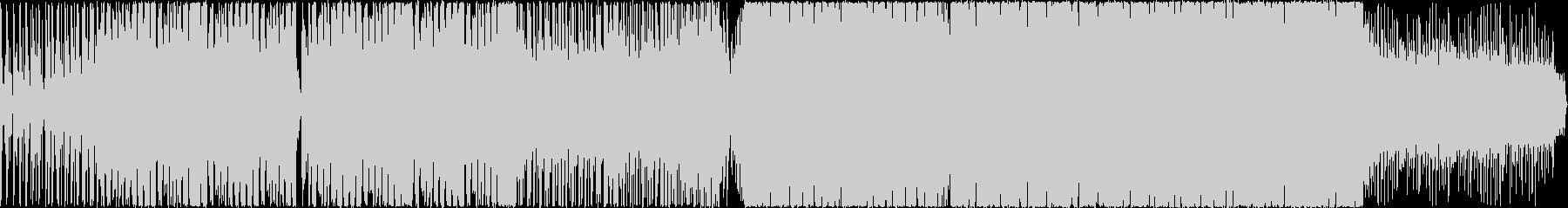 おしゃれなコードのEDM風ハウスの未再生の波形