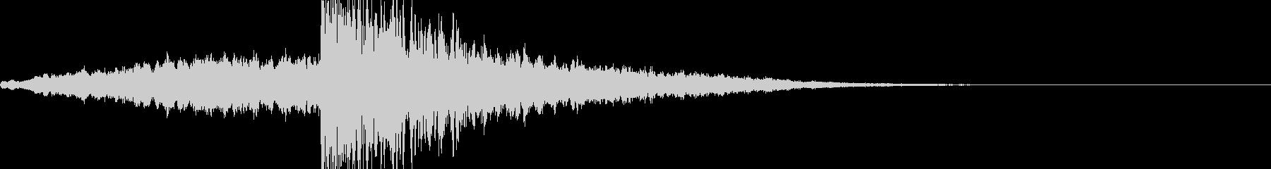 映画・映像用サウンドロゴ008の未再生の波形