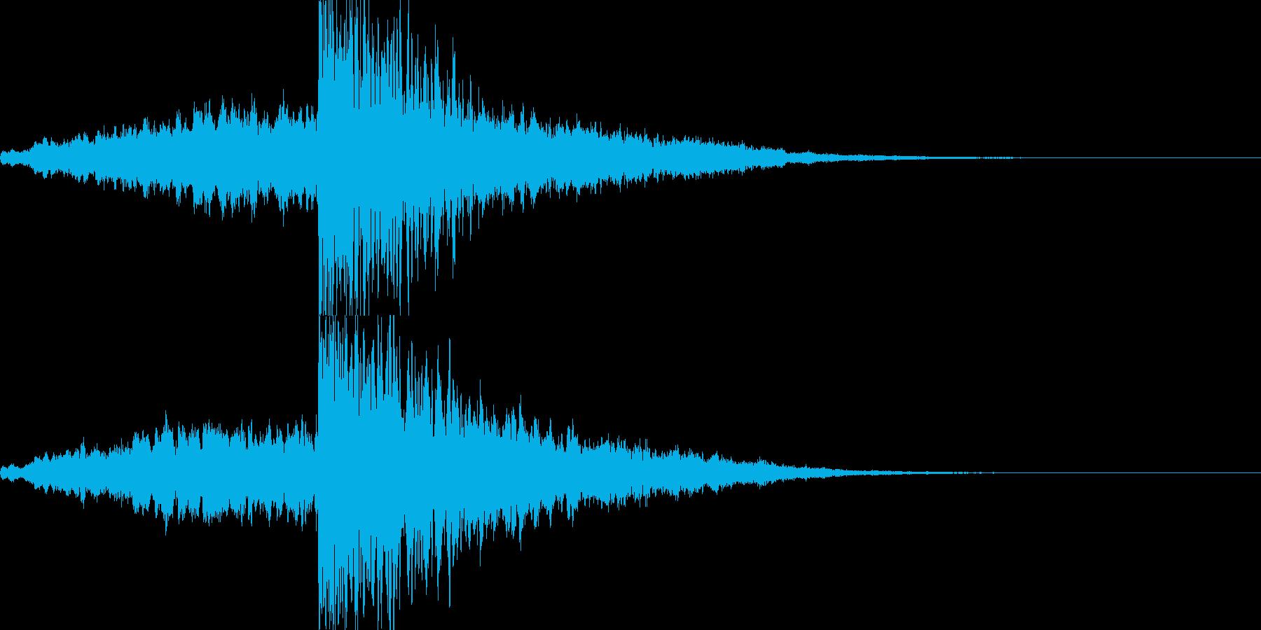 映画・映像用サウンドロゴ008の再生済みの波形