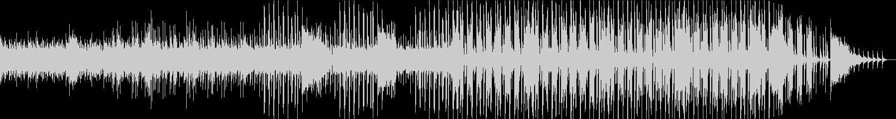 シンセを使った怪しい感じのBGMの未再生の波形