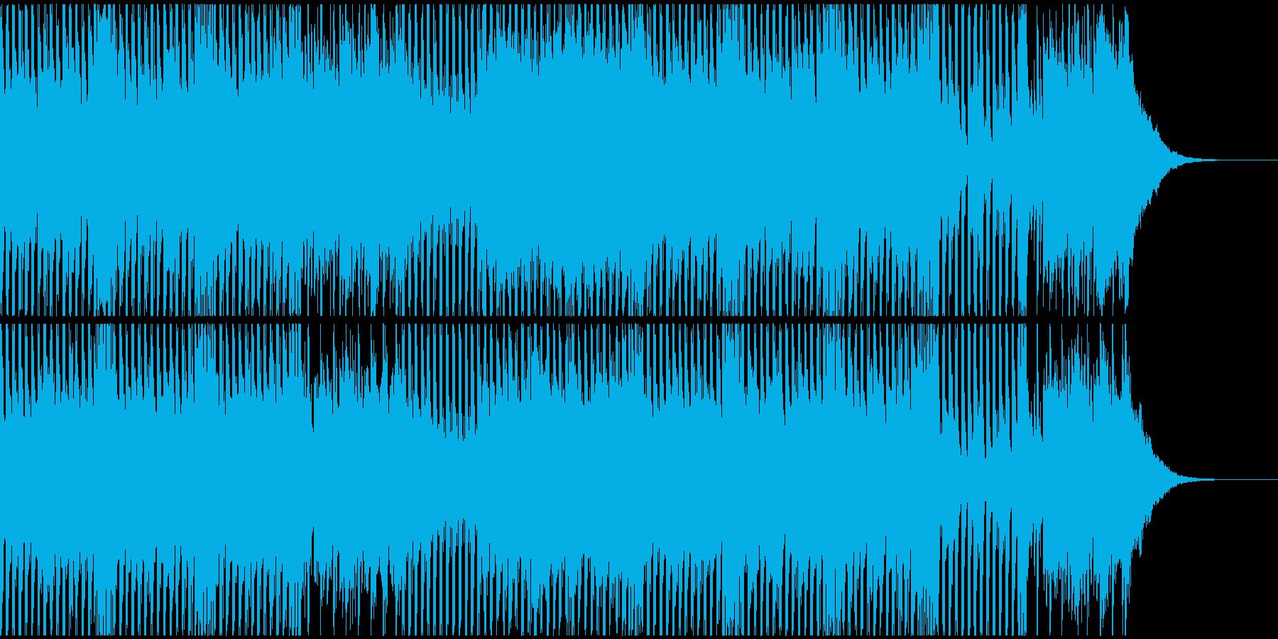 夢見るような希望的なトランスサウンドの再生済みの波形