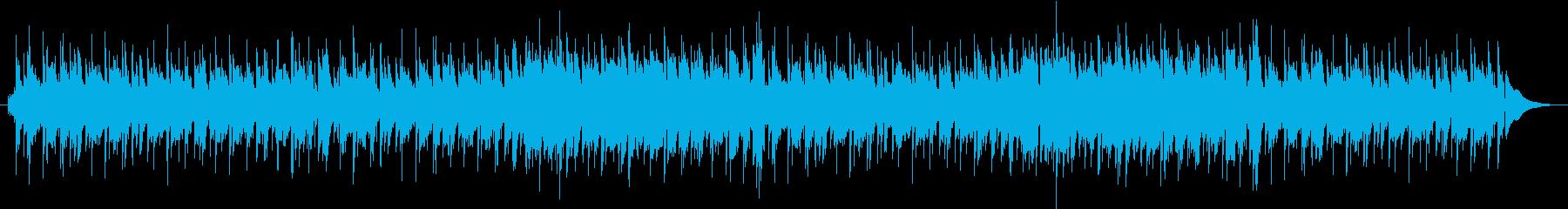 ハイテンポなボサノヴァ風のエレピ・ビー…の再生済みの波形