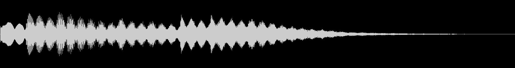 ビブラフォン:「グッドモーニング」...の未再生の波形