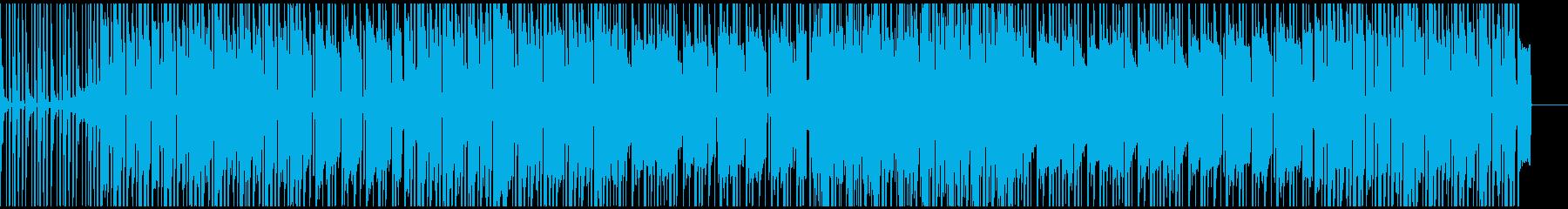 ゆったり坦々としたローファイヒップホップの再生済みの波形