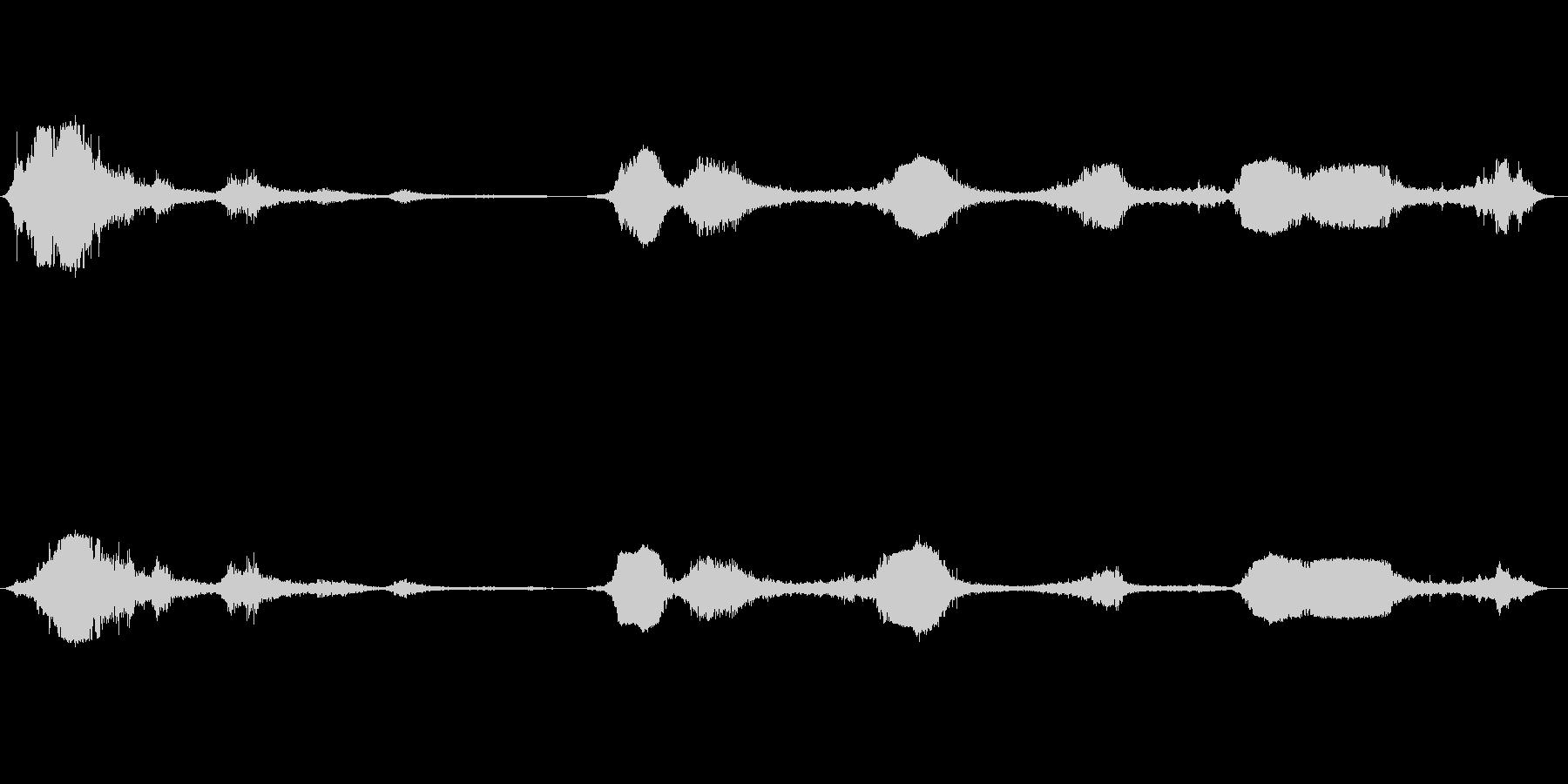 F-16:パス、数回の戦闘機と爆撃機の未再生の波形