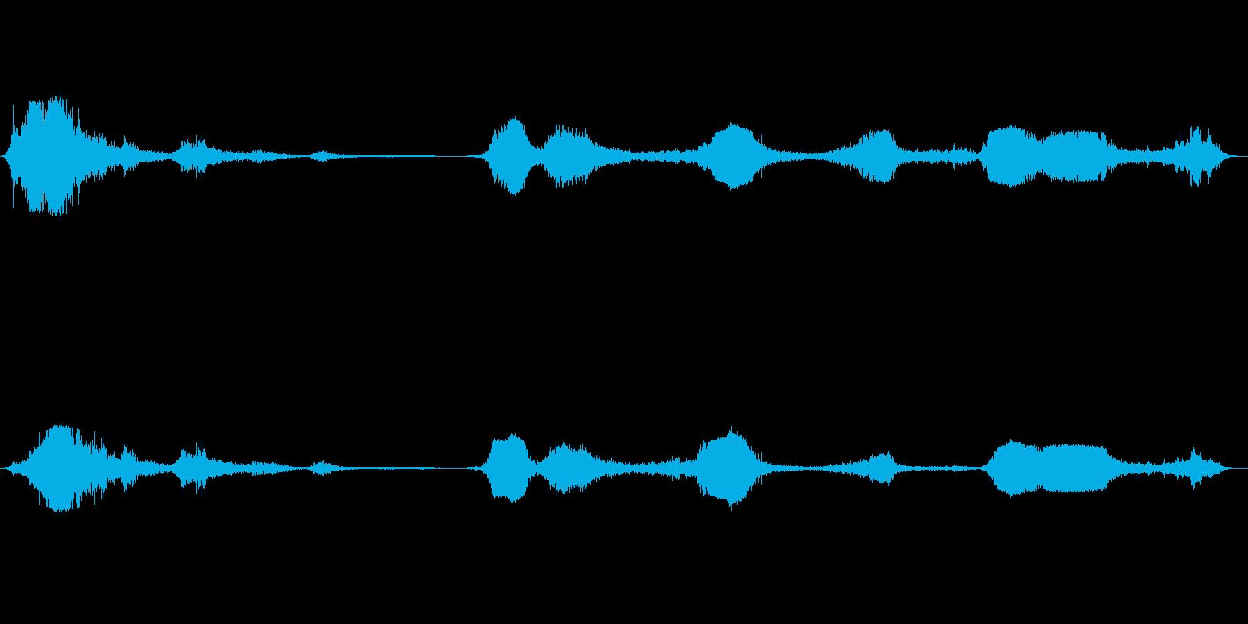 F-16:パス、数回の戦闘機と爆撃機の再生済みの波形