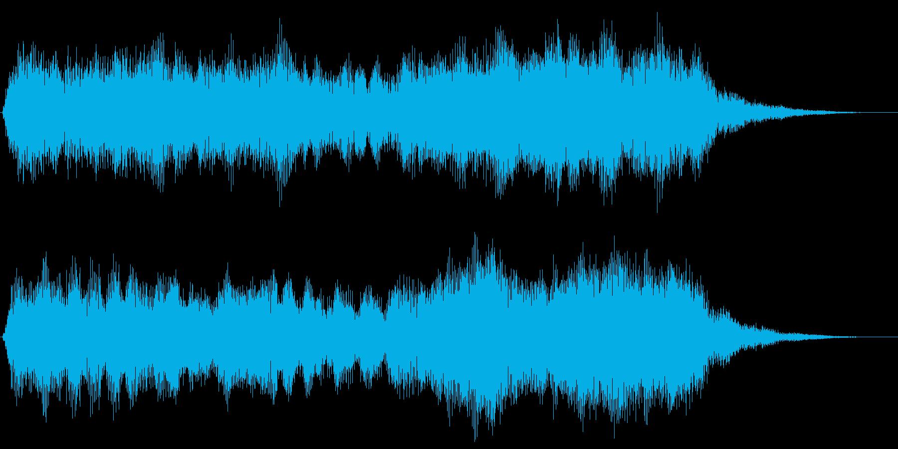 悲しいダークなファンファーレ 場面転換の再生済みの波形