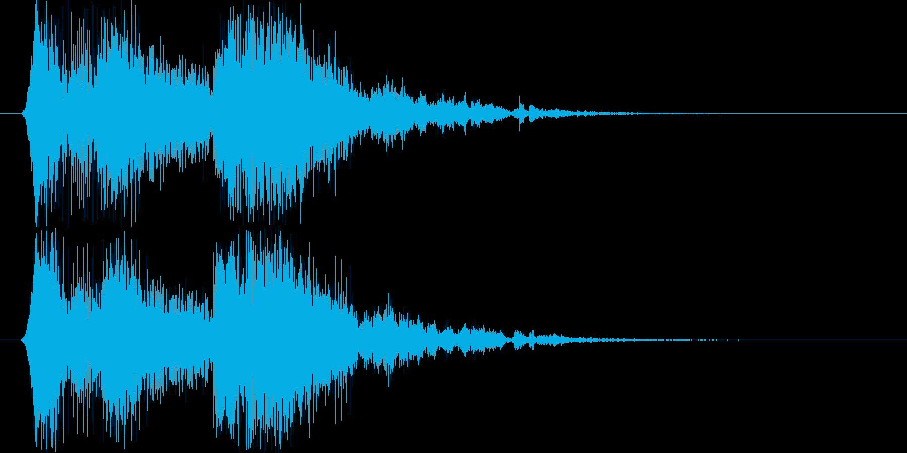 フィクション 電力装置 電気08の再生済みの波形