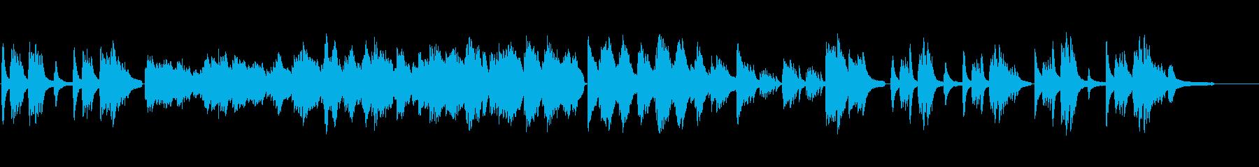 美しく不思議な世界観のピアノソロの再生済みの波形