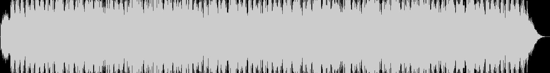 癒やしのピアノ ヒーリング音楽の未再生の波形