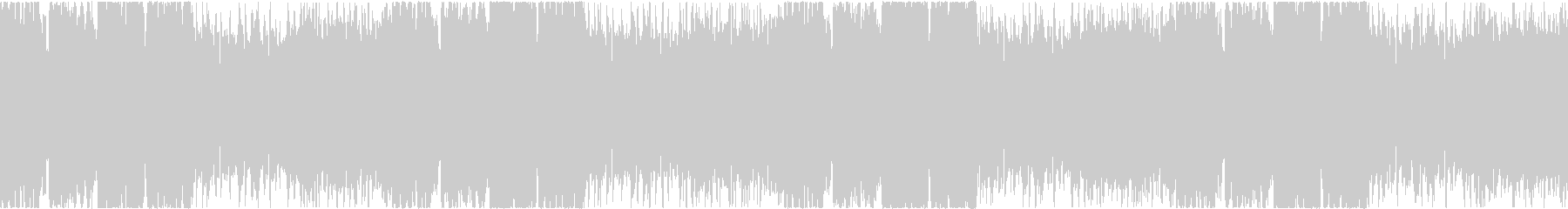 アイリッシュ・ケルト音楽ループの未再生の波形