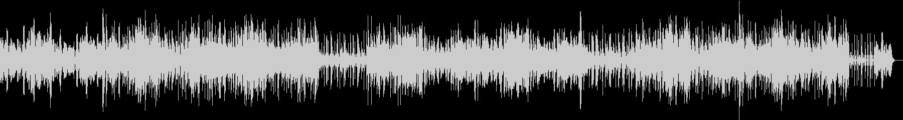 シンセサイザーによるストレッチ音楽の未再生の波形