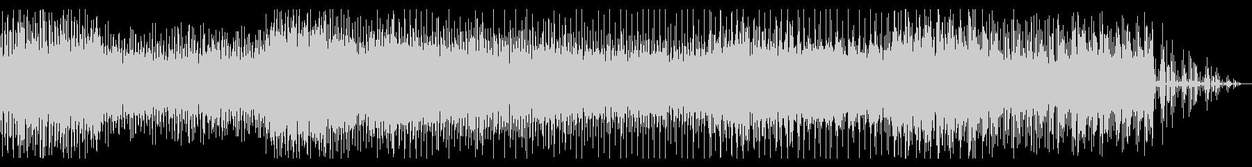 サスペンシブなシネマティックBGMの未再生の波形