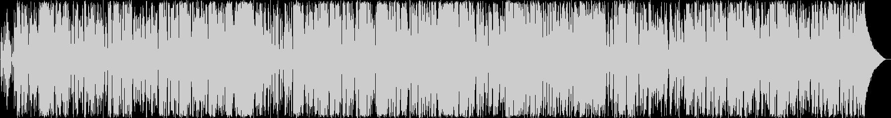 癒しのボサノバミュージックの未再生の波形