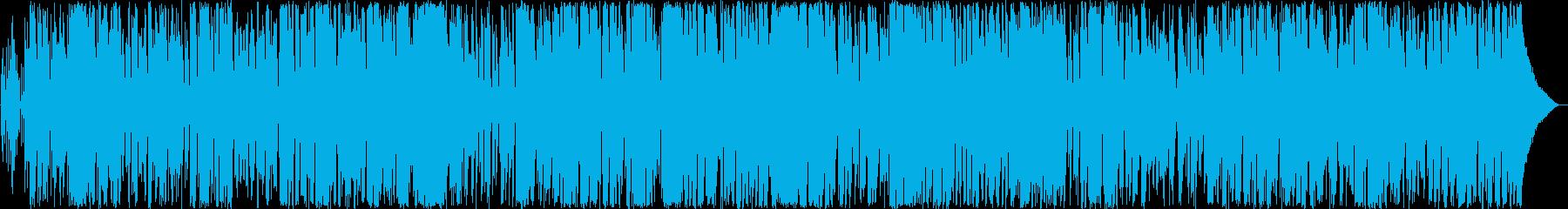 癒しのボサノバミュージックの再生済みの波形