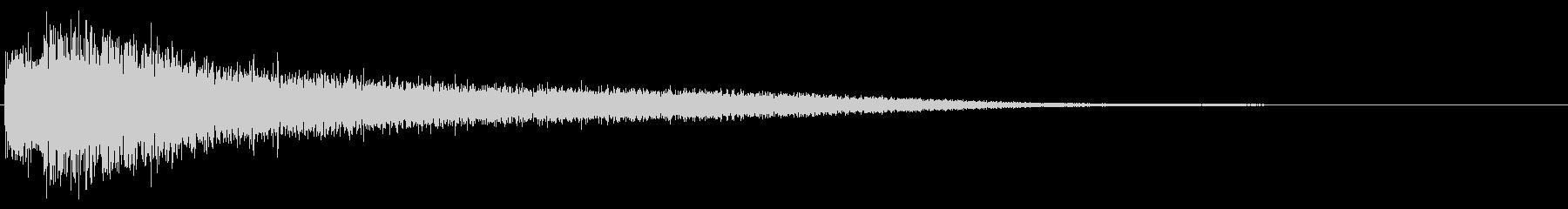ガキーン(刀・剣・刃)の未再生の波形