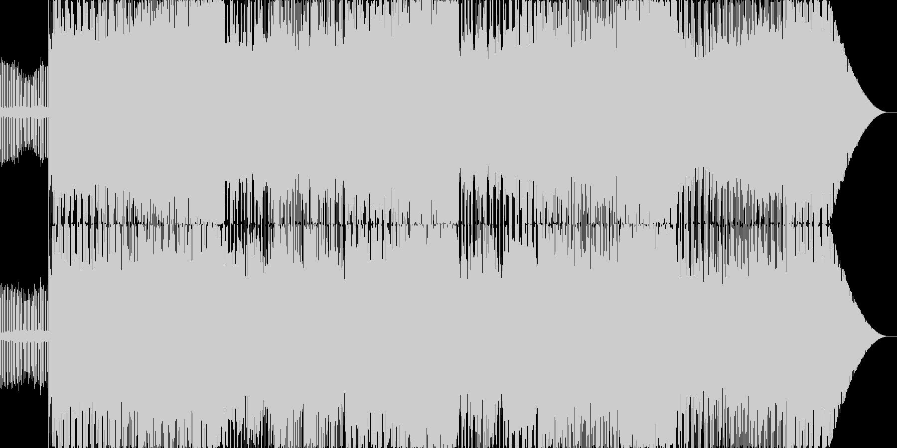 ボス戦をイメージした激しい楽曲です。エ…の未再生の波形