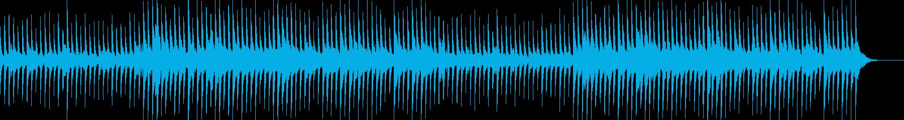 静かな恐怖・催眠・幻想的な場面等 ピアノの再生済みの波形