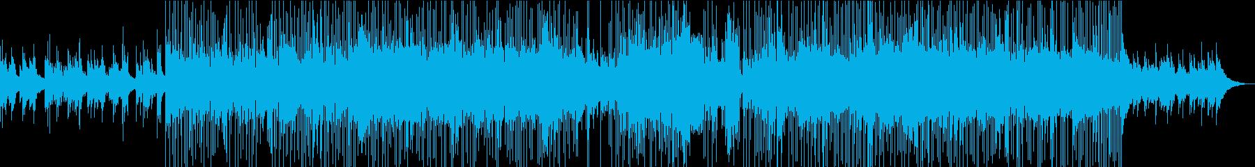 英詞ゴージャスなカントリーポップロックの再生済みの波形