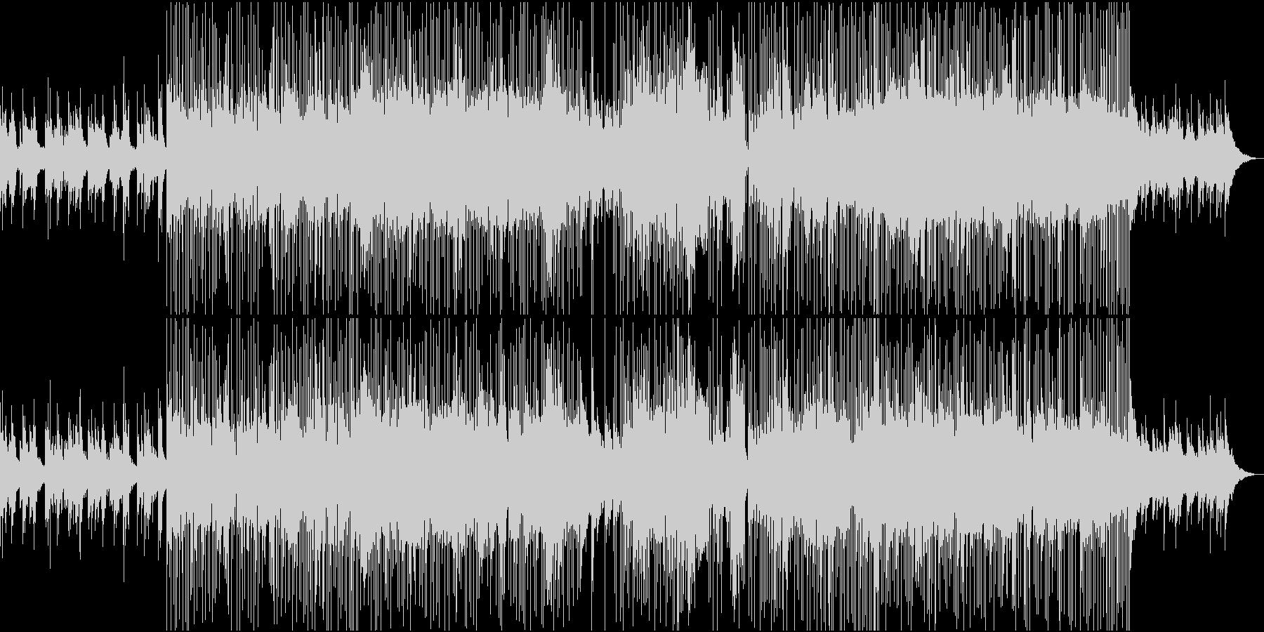 英詞ゴージャスなカントリーポップロックの未再生の波形