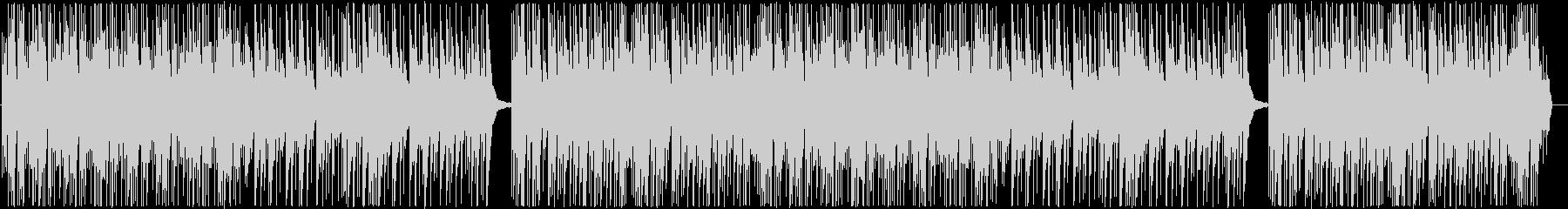 ピアノとシンセの気楽に聴けるBGMの未再生の波形