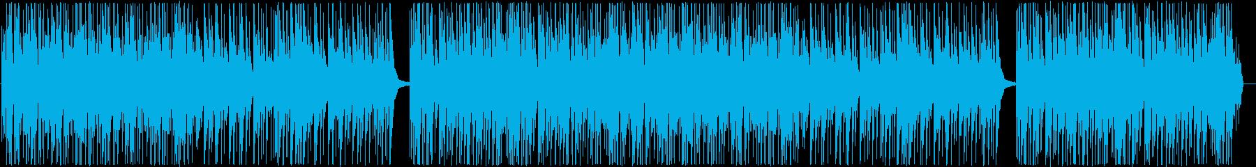 ピアノとシンセの気楽に聴けるBGMの再生済みの波形