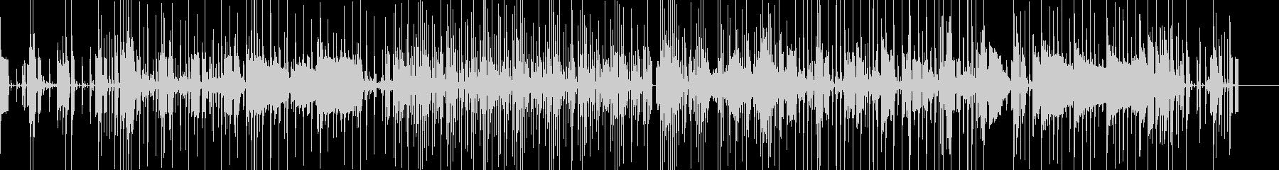 湾岸通りのフォトグラフ、落ち着いたムードの未再生の波形