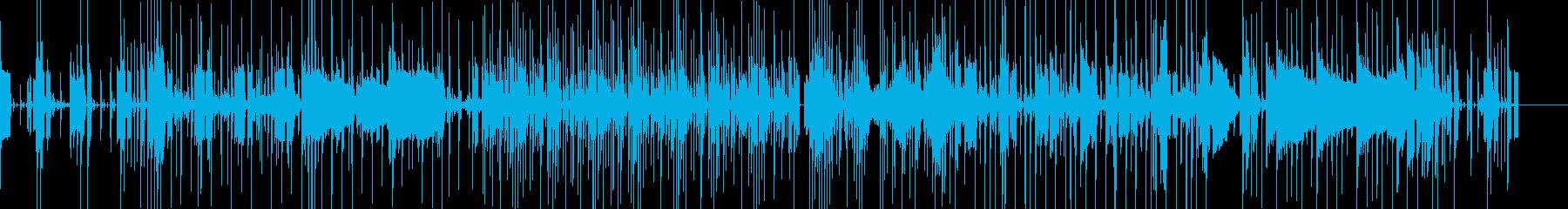 湾岸通りのフォトグラフ、落ち着いたムードの再生済みの波形