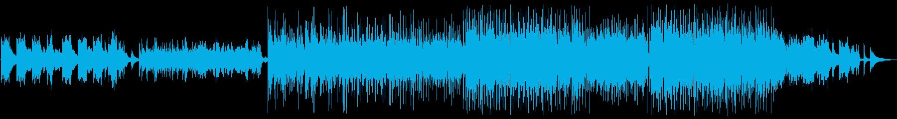 美しく優しいメロディのヒーリングサウンドの再生済みの波形