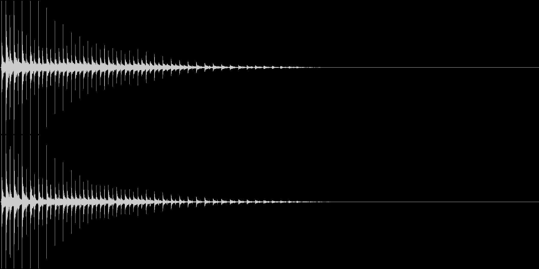 TVFX ボケ・ギャグ・ズッコケ風 SEの未再生の波形