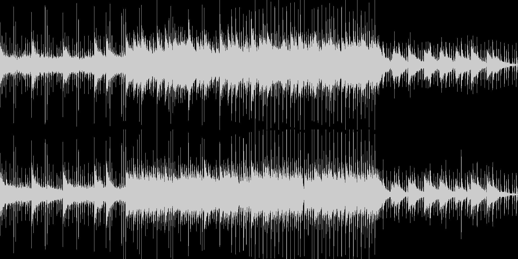 【ループ仕様】明るく切ないエレクトロニカの未再生の波形