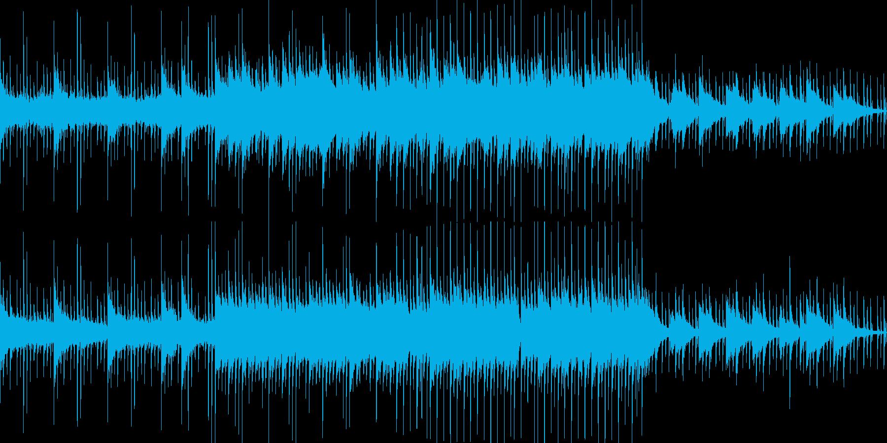 【ループ仕様】明るく切ないエレクトロニカの再生済みの波形