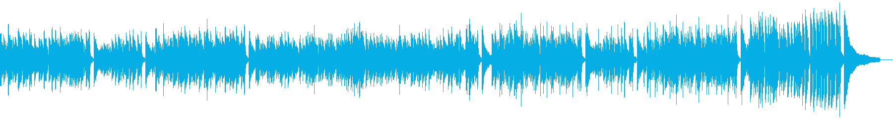 Warm bossa nova for about 120 seconds's reproduced waveform