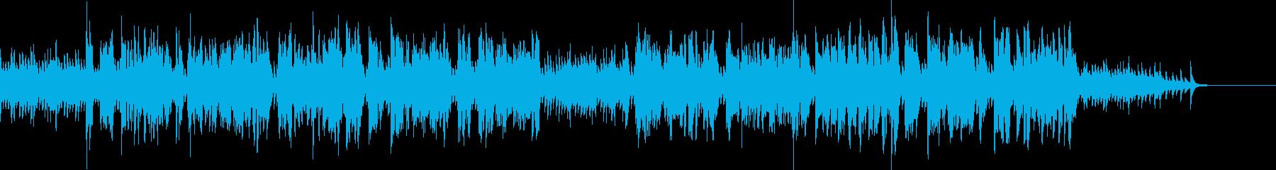 一途な思いを歌うピアノバラードの再生済みの波形