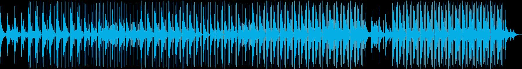 ローファイ、ギター、チルアウト、VLOGの再生済みの波形